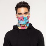 Colorful Cats Neck Warmer