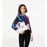 Painter CROPPED Hoodie without pocket