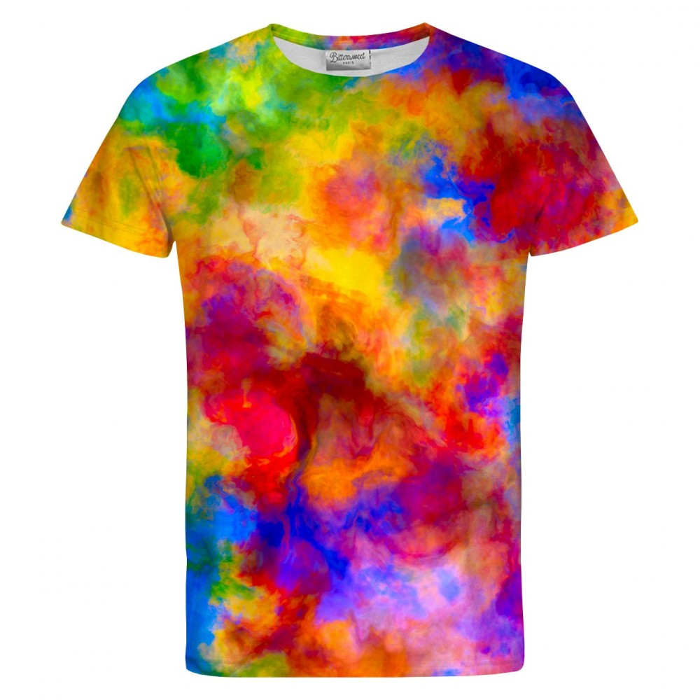 Color Freak Holi Clouds T-Shirt